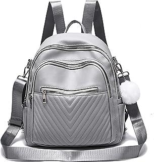 حقيبة ظهر نسائية من النايلون مضادة للسرقة حقيبة كتف بتصميم حقيبة سفر للسيدات