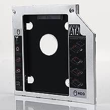 DY-tech 2nd Hard Drive HD HDD SSD Caddy for Dell Inspiron 15R 5521 14z N411Z 13z 13z-328