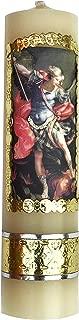 Archangel Saint Michael Archangel Colorful Candle Protection Angel Vela de San Miguel Arcangel