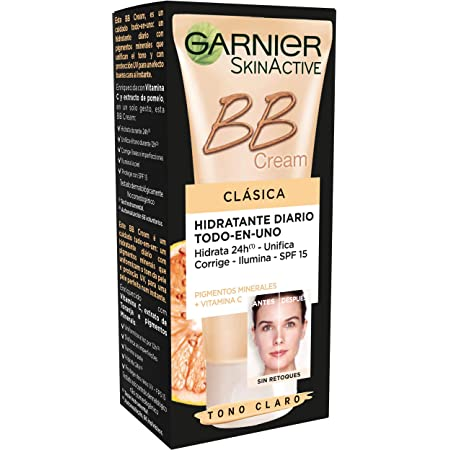 Garnier Skin Active - BB Cream Clásica, Crema Hidratante Todo ...