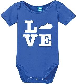 Kentucky Love Printed Baby Romper