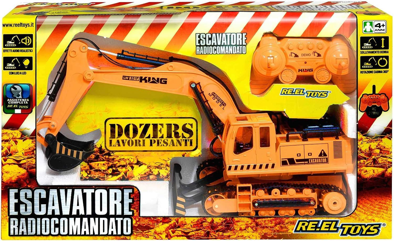 Reel giocattoli REELgiocattoli2114Crawler Excavator modellolo
