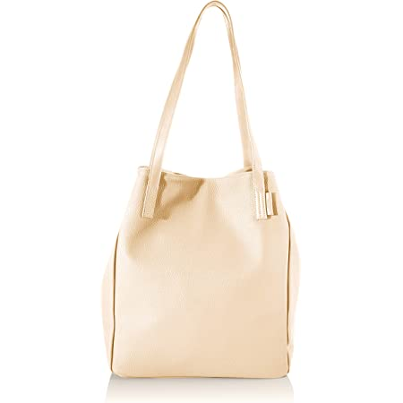 TOM TAILOR Denim Schultertasche Damen, Arona, 41/30x14x35 cm, Shopper groß, Handtasche