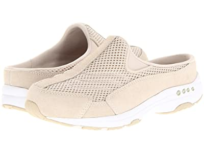 Easy Spirit Traveltime (Light Natural Suede/White) Women