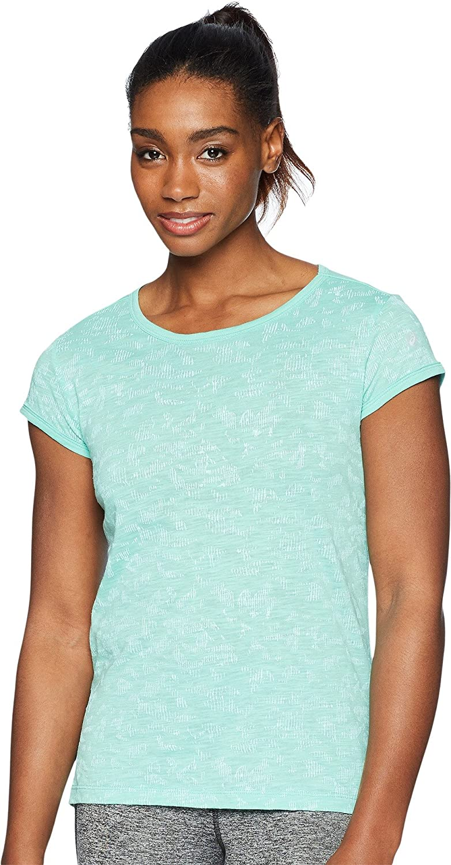ASICS Women's 正規店 Moisture Management Short Sleeve 高品質