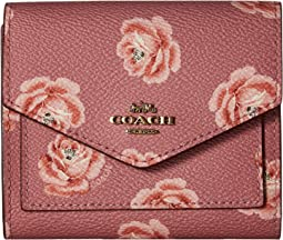 Small Wallet With Rose Print