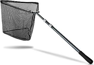 60cm MagiDeal Filet de P/êche Nylon Portable Pliant Maille de Losange Epuisette