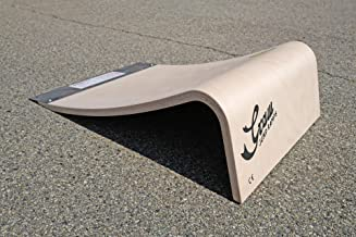 Graw Jump Ramps G20 Pro Rampa de Salto para Uso Profesional - Altura 20 CM - para Skateboard, Patineta, Bicicleta, Patines, RC