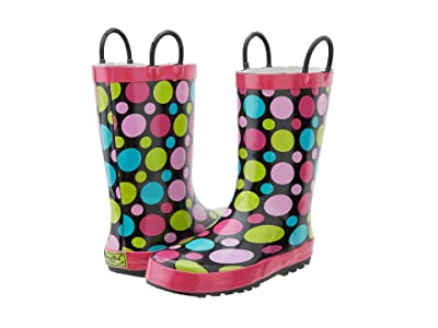 Western Chief Kids Limited Edition Printed Rain Boots (Toddler/Little Kid) (Dot Party) Girls Shoes