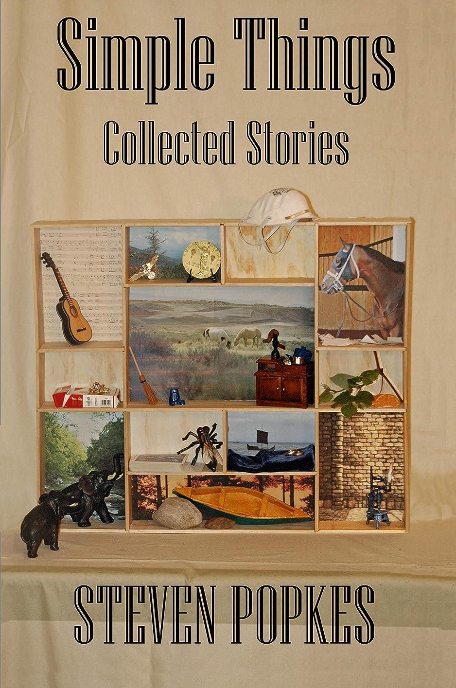 賃金倍率消毒するSimple Things: Collected Stories (English Edition)