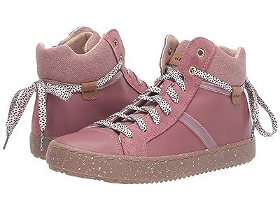Geox Kids Geox x WWF Jr Kalispera 28 (Big Kid) (Dark Pink) Girls Shoes