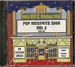 Big Hitz Pop MegaHits 2006 Vol 2 Karaoke CDG BHK-311 Male and Female Hits