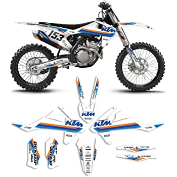 Enjoy MFG Graphics Kit Compatible Fit for 2016-2020 KTM SX 50 LO