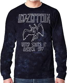 Led Zeppelin USA Tour 77 Tie Dye Long Sleeve T-Shirt