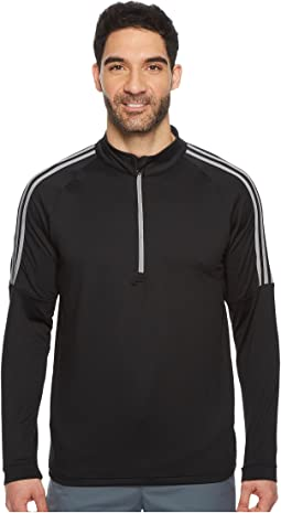 adidas Golf Classic 3-Stripes 1/4 Zip Pullover
