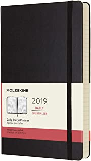 Moleskine Classic 12 Month 2019 Daily Planner, Hard Cover, Large (5