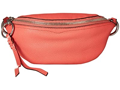 Rebecca Minkoff Bree Mini Belt Bag (Grapefruit) Day Pack Bags