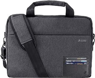 JP Journey Bolso bandolera para tablet iPad hasta 11 pulgadas, RFID, unisex, pequeño, gris
