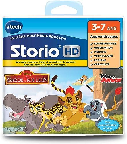 Vtech Jeu HD Storio LA GARDE DU ROI LION, 275205 - Version FR