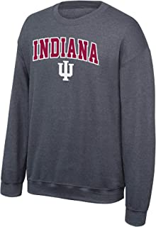 Elite Fan Shop NCAA Crewneck Sweatshirt Dark Heather Arch