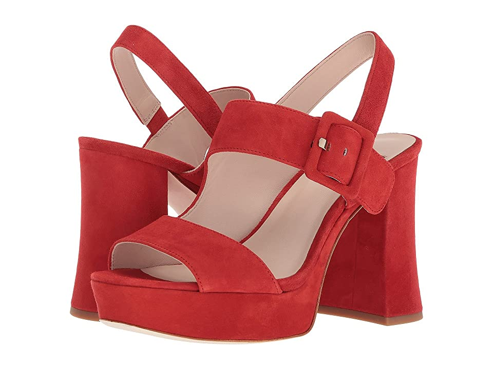 badbe0aa81d  129.00 More Details · Nine West Lexine 40th Anniversary Platform Heeled  Sandal (Red Suede) Women s Sandals