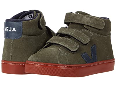VEJA Kids Small Esplar Mid (Toddler) (Mud/Nautico/Rust Sole) Kid