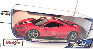 Maisto Ferrari 458 Speciale 1:18 Special Edition
