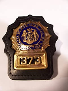 New York/New Jersey Police Style Detective Belt Clip (badge not included)