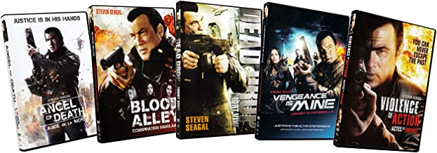 Steven Seagal 5-Pack (Angel of Death / Blood Alley / Dead Drop / Vengeance is Mine / Violence of Action)