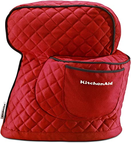 discount KitchenAid sale Fitted Stand Mixer Cover for Tilt head stand mixer models (4.5-quart and 5-quart), online Empire Red outlet online sale