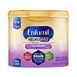 Enfamil NeuroPro Gentlease Baby Formula Gentle Milk Powder, 20 Ounce (Pack of 1) - MFGM, Omega 3 DHA