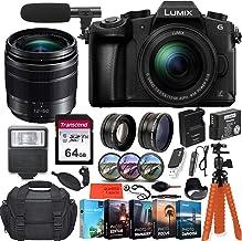 Panasonic Lumix DMC-G85MK 4K Wi-Fi Digital Camera with 12-60mm Lens + 64GB Transcend Memory Card + Battery & Charger + Cas...