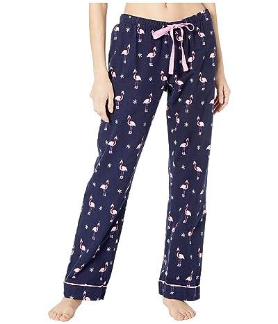 P.J. Salvage Flamingo Flannel Sleep Pants (Navy) Women