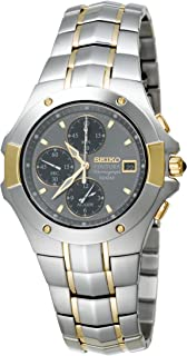 Seiko Men's SNA548 Coutura Alarm Chronograph Watch