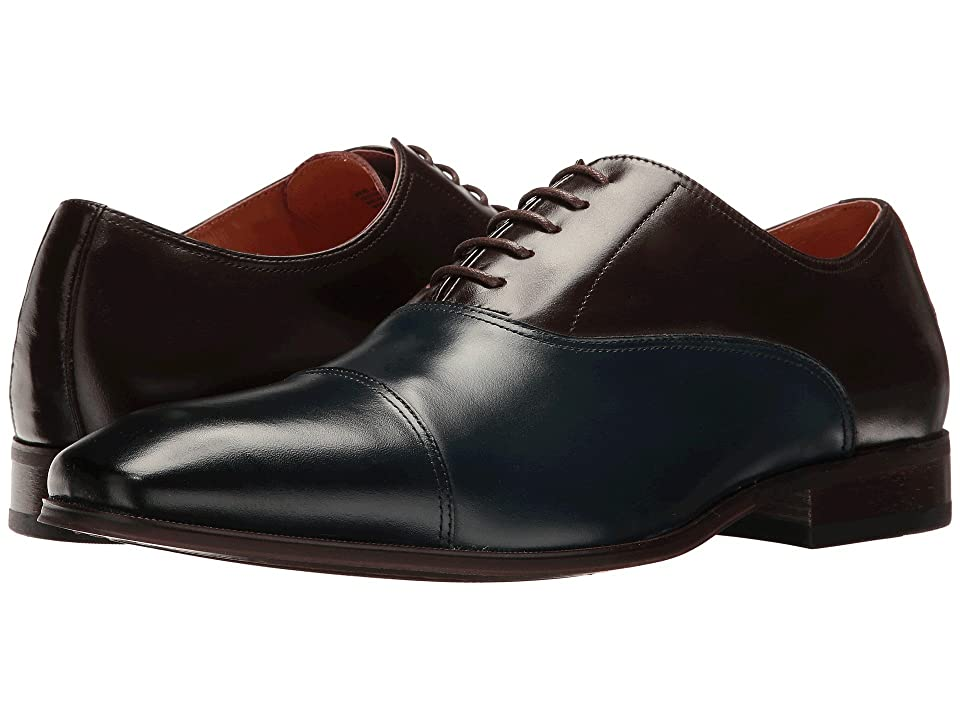 Florsheim Corbetta Cap Toe Oxford (Navy/Brown Smooth) Men