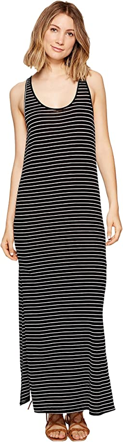Premium Surf Stripe Maxi Dress