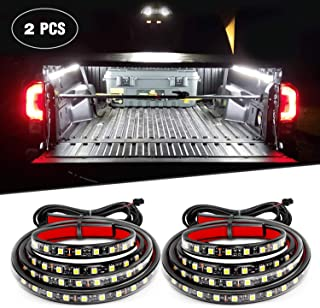 "Nilight Barra de luz LED para portón trasero, 2PCS 60"" Truck Bed Light Strip"