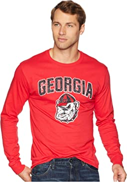 Georgia Bulldogs Long Sleeve Jersey Tee