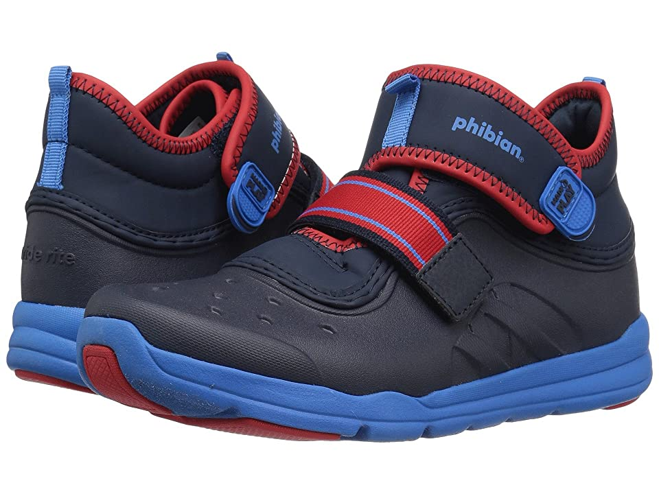 Stride Rite Made 2 Play Phibian Mid (Toddler/Little Kid) (Navy) Boys Shoes