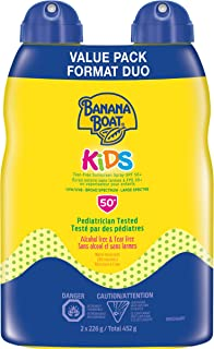 Banana Boat Kids Sunscreen Lotion, Tear Free, Spf 50+ value Twin Pack, 452 Milliliters