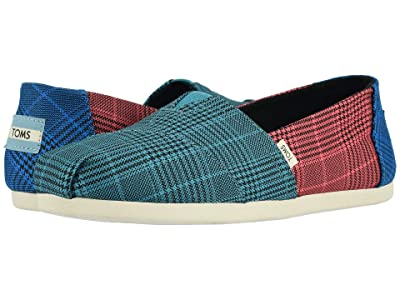 TOMS Alpargata 3.0 (Multi Patchwork Plaid) Women