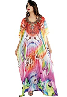 Pythons and Snaky Patches in Kaftans Look & Feel Embroider Crystal Beaded Kaftan Beach wear Caftan Dress 75