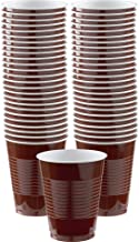 Party Chocolate Brown Plastic Supply