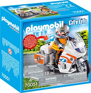 PM Playmobil 70051 Emergency Motorbike