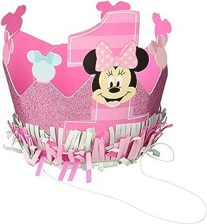 Amscan - Minnie's Fun To Be One Glitter Crown (1)