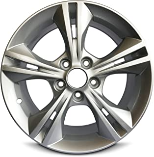 Road Ready Car Wheel For 2012-2014 Ford Focus 16 Inch 5 Lug Gray Aluminum Rim Fits R16 Tire - Exact OEM Replacement - Full-Size Spar