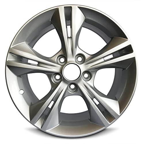 New Ford Focus 16 Inch Silver Aluminum Wheel OEM Factory Replica Rim (16x7 5x108mm or