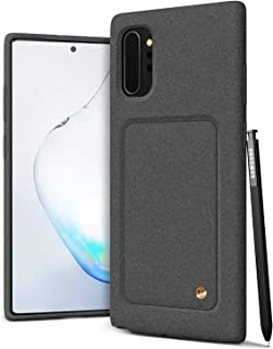 VRS DESIGN Damda High Pro Shield for Galaxy Note 10 Plus, with Premium Sand Stone Touch and Gold Detail for Galaxy Note 10 Plus 5G Case 6.8 inch (2019)