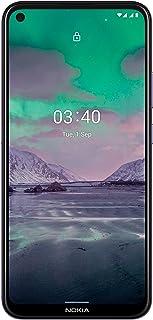 هاتف نوكيا 3.4 ثنائي شرائح الاتصال - 64 جيجا بايت، رام 4 جيجا بايت، الجيل الرابع ال تي اي، لون ارجواني