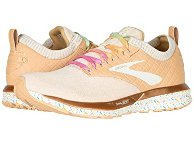 Brooks Ricochet (Vanilla Sprinkles/White) Women